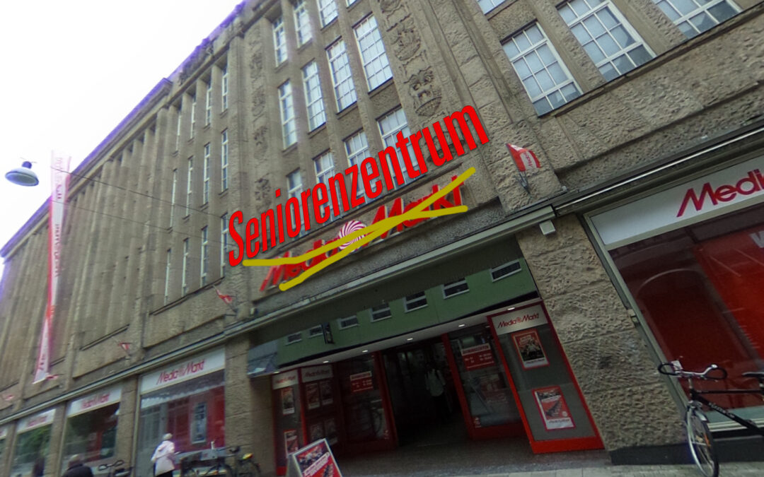 Geplantes Seniorenzentrum im ehemaligen Karstadt-Gebäude
